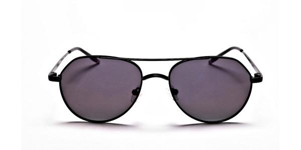 Dark Purple Tinted Sunglasses