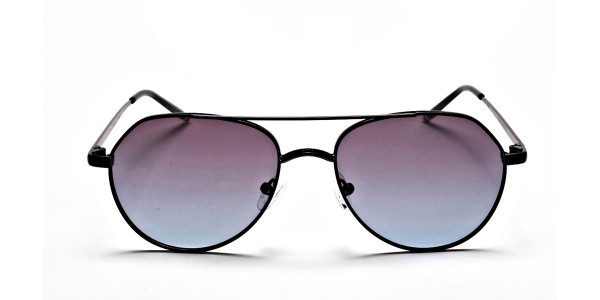 Blue & Black Sunglasses