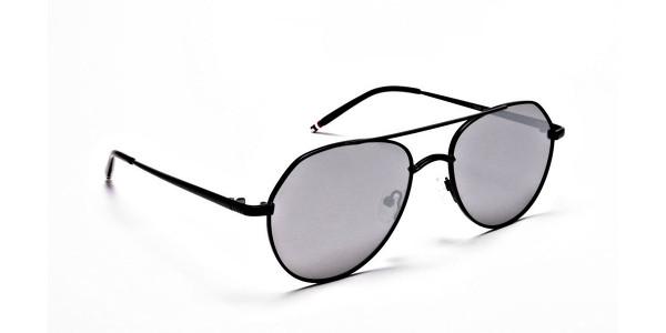 Silver Grey Sunglasses -1