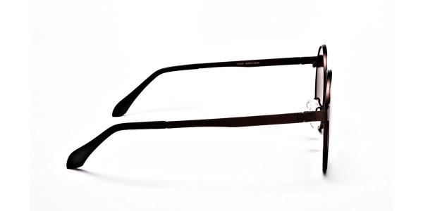 Brown Sunglasses in Round Online - 3