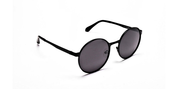 Grey tint sunglasses- 1