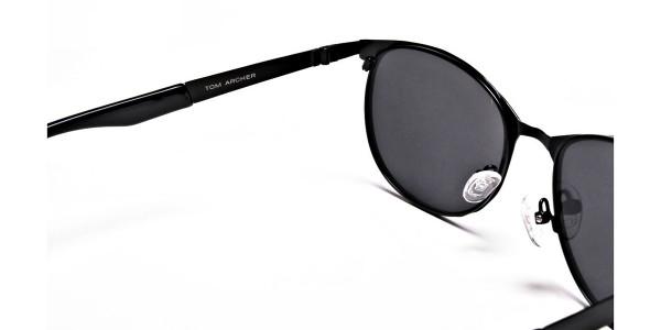 Grey Tinted Sunglasses -4
