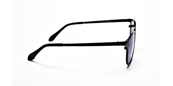 Blue Tinted Sunglasses -3