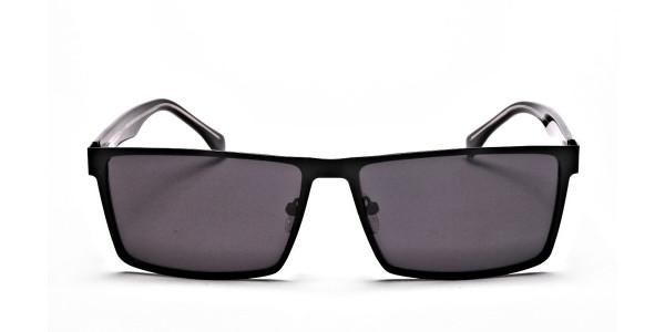 Black Wayfarer Sunglasses for Men and Women
