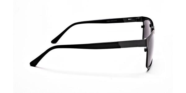 Dark Metal Sunglasses - 3