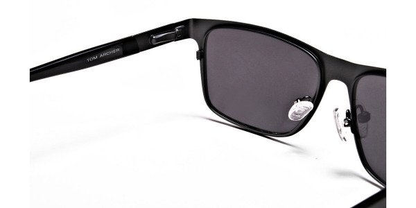 Dark Metal Sunglasses - 4