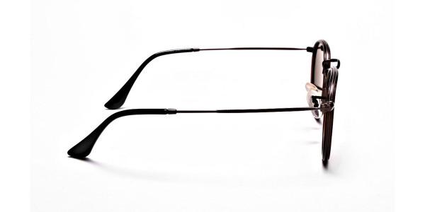 Fashion Brown Round Sunglasses - 3