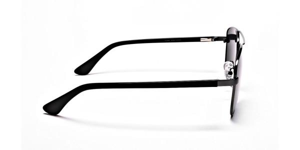 Gunmetal Framed Classic Sunglasses -4