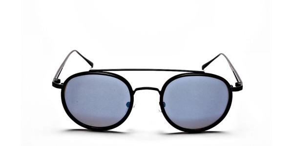 Classic Double-Bridged Sunglasses