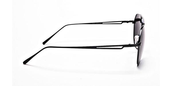 Classic Gunmetal Grey Tinted Sunglasses -3