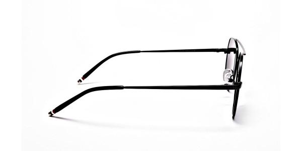 Black & Grey Tinted Sunglasses -3