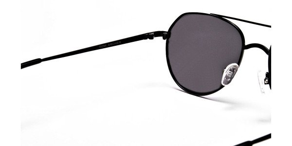 Black & Grey Tinted Sunglasses -4