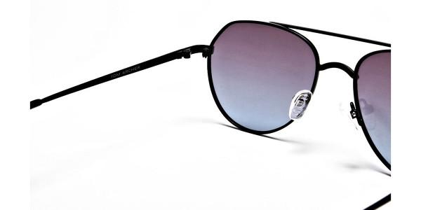 Blue & Black Sunglasses -4