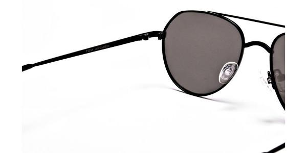 Silver Grey Sunglasses -4