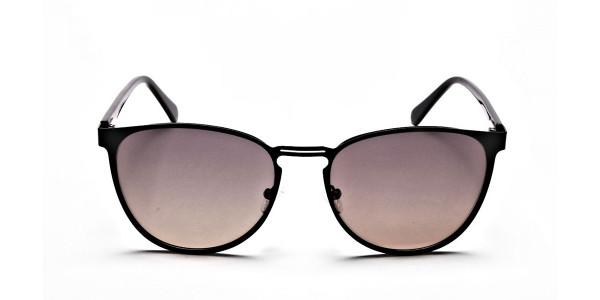 Round Aviator Sunglasses-1