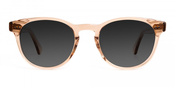 brown-transparent-round-full-rim-dark-grey-tinted-sunglasses-1