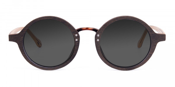 Brown-Wood-Frame-Sunglasses-with-Grey-Tint-1