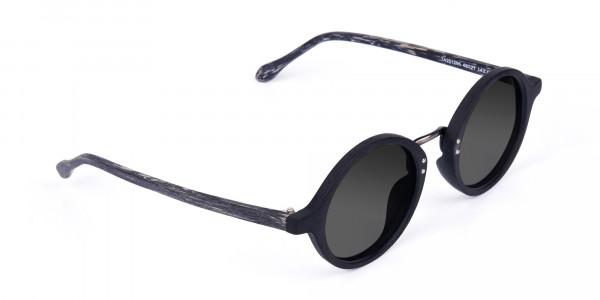 Black-Round-Wood-Sunglasses-with-Grey-Tint-2