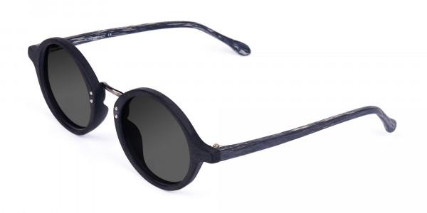 Black-Round-Wood-Sunglasses-with-Grey-Tint-3