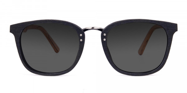 Wood-Black-Frame-Square-Sunglasses-with-Grey-Tint-1