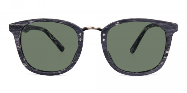 Wooden-Grey-Square-Sunglasses-with-Green-Tint-1
