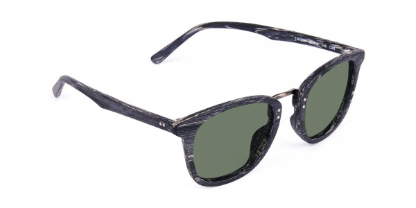 Wooden-Grey-Square-Sunglasses-with-Green-Tint-2