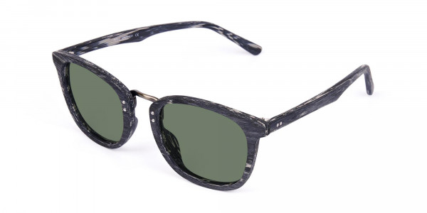 Wooden-Grey-Square-Sunglasses-with-Green-Tint-3