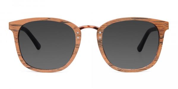 Wooden-Brown-Square-Designer-Sunglasses-1
