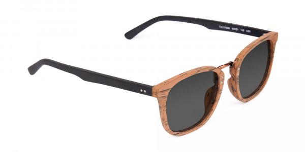 Wooden-Brown-Square-Designer-Sunglasses-2