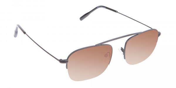 Black Square Sunglasses - 2