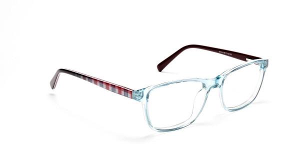 Wayfarer glasses in Powder Blue for Men & Women -2