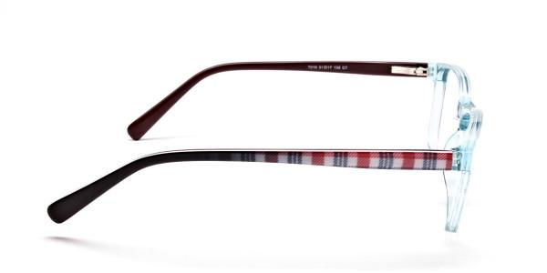 Wayfarer glasses in Powder Blue for Men & Women -4