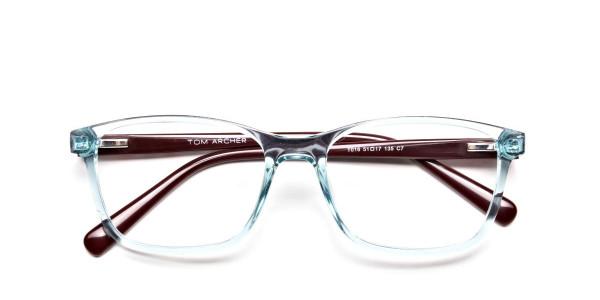 Wayfarer glasses in Powder Blue for Men & Women -6