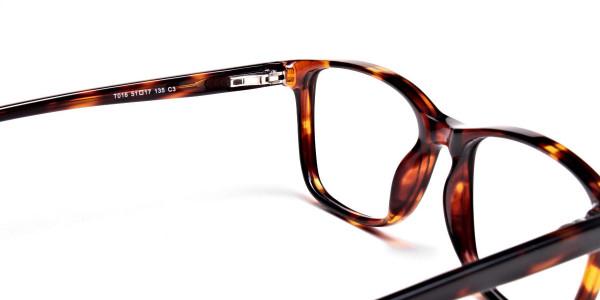 Wayfarer glasses in Tortoiseshell for Men & Women -5