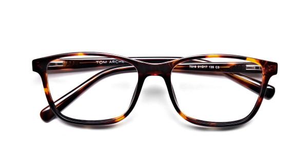 Wayfarer glasses in Tortoiseshell for Men & Women -6