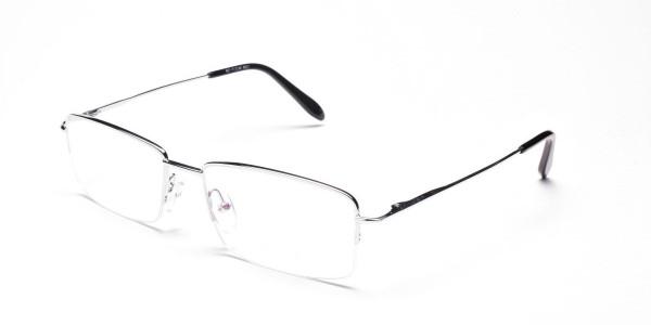 Silver Eyeglasses that Rock -3