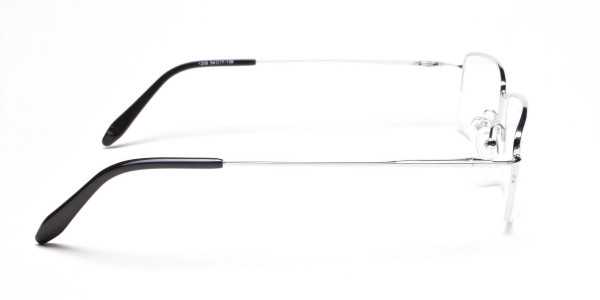 Silver Eyeglasses that Rock -4