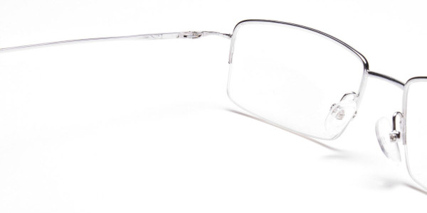 Silver Eyeglasses that Rock -5