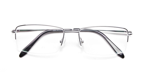 Silver Eyeglasses that Rock -6