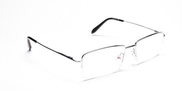 Silver Eyeglasses that Rock -2