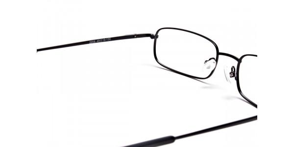 Rectangular Eyeglasses in Black, Eyeglasses - 5