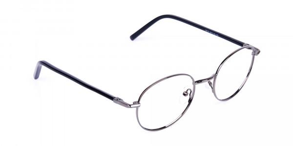 round titanium eyeglass frames-2