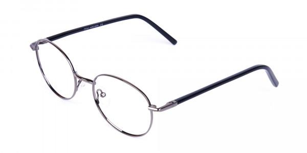 round titanium eyeglass frames-3