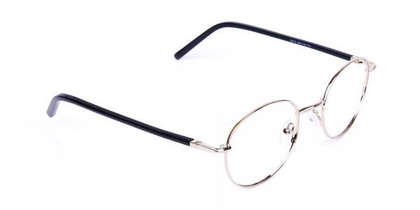 titanium round glasses-2