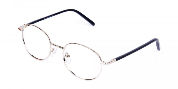 titanium round glasses-3