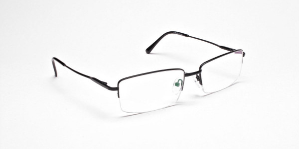 Rectangular glasses in Black- 2