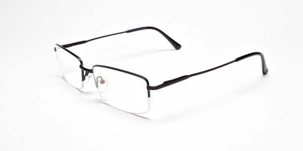 Rectangular glasses in Black - 3