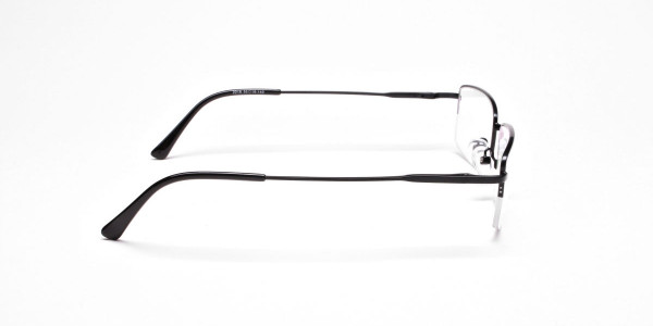 Rectangular glasses in Black - 4