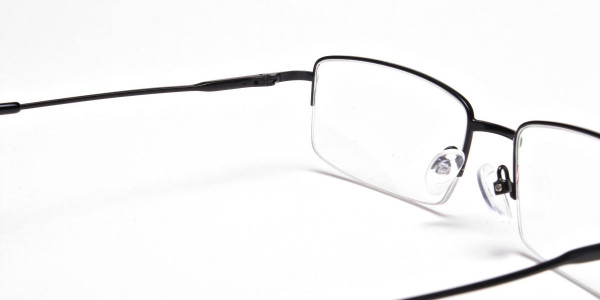 Rectangular glasses in Black - 5