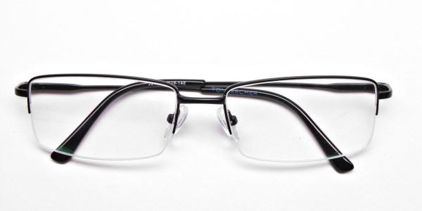 Rectangular glasses in Black - 6